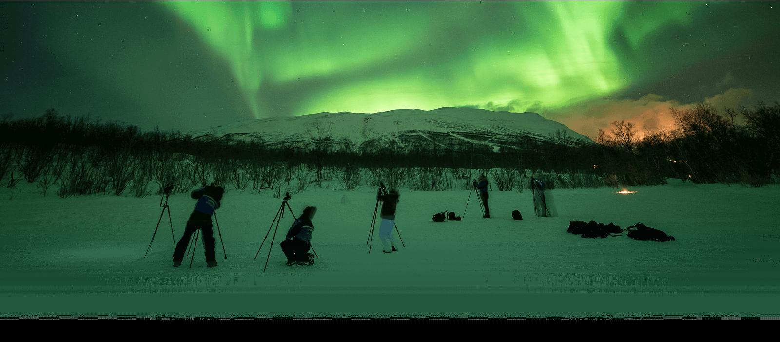 Abisko Northern Lights In Sweden Northern Lights Tours